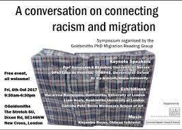 A conversation on Connecting Racism and Migration – A PhD Migration Reading  Group conference – Streetsigns