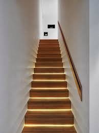 staircase lighting ideas. Modern Lighting Ideas That Turn The Staircase Into A Centerpiece : Stairs With Thin Strips Of E