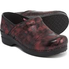 Sanita Shoe Size Chart Sanita Piper Smart Step Clogs Printed Patent Leather For Women