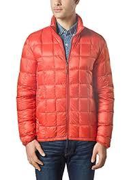 XPOSURZONE Men Packable Down Quilted Puffer Jacket Lightweight ... & XPOSURZONE Men Packable Down Quilted Puffer Jacket Lightweight Puffer Coat  Blazing Orange S Adamdwight.com