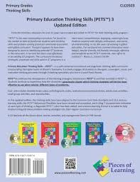 primary education thinking skills p e t s 3 updated with cd