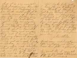 Cover Letter Outline Classy Letters From The Civil War Beautiful Free Cover Letter Templates