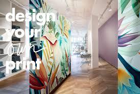 Digitaal Geprinte Wandbekleding Ontwerp Je Eigen Print