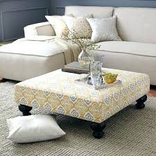 fabric coffee table. Fresh Fabric Coffee Table With Large Ottoman Size Of Ottomans Round Intended For Upholstered