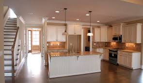 White Kitchen With Hardwood Floors Fabulous Antique White Kitchen Cabinets And Modern Kitchen Island