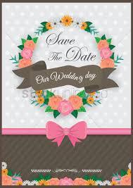 Alia Designs Invitations Wedding Invitation Design Vector Image 1986993
