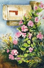 Postman's Delight Painting by Anne Rhodes
