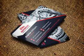 Auto Repair Business Card Template Business Card Templates