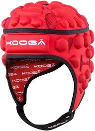 Kooga Essentials Rugby Headguard Red Junior Rugby Headguards