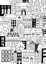 Small Picture 330 best Architecture Coloring Pages for Adults images on