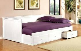 daybed with shelves furniture cottage style drawers in storage and trundle wi