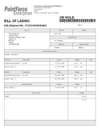 bill of lading printable form bill of lading form bill of lading bill lading petit comingoutpoly