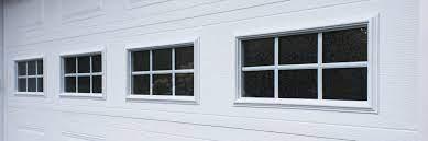 thermal windows to your garage door