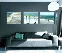 coastal life canvas wall art