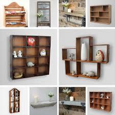 wall mounted storage cabinet shelf wood