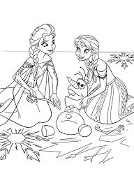 Small Picture Printable anna and elsa coloring pages coloring page