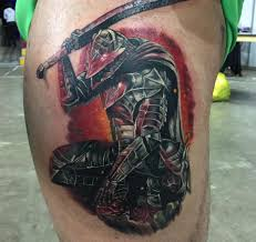 Got Berserker Guts On My Leg 15h Straight At Newcastle Tattoo