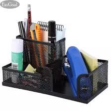 office desk shelf. EsoGoal Office Desk Organizer W/3 Kompartemen-Hitam Mesh Logam Koleksi Supply Caddy Shelf