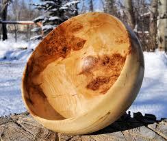 alaskan birch burl bowl