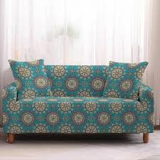 bohemian mandala flower sofa covers in