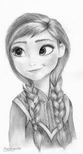 Anna De Pequeña Frozen Disegni E Silhouette Nel 2019 Disegni