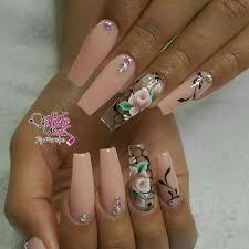 Peach Nail Designs Pinterest