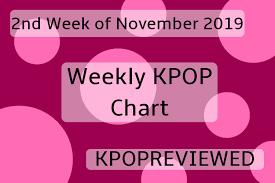All Kpop Chart Weekly Chart 2nd Week Of November 2019 Kpop Review