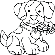 Dog Coloring Pages Dogs Page Free Cat Police Of Online