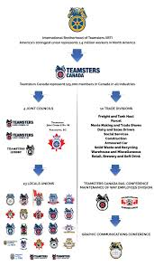 Brewery Org Chart Union Structure Teamsters Canada