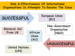 world issues development in africa essay the success of   the issue successful unsuccessful african union au non government organisation ngo european union eu bilateral aid from uk united nations un