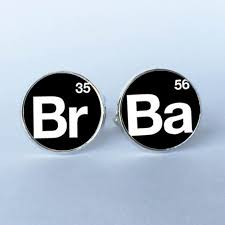 Ba Quote Stunning Pair Breaking Bad Cufflinks Silver Plated Br Ba Cuff Links