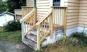 outdoor stairs design stair railing fantastic wood regarding exterior idea steps ideas st deck outside and