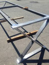 steel dining table legs impressive metal legs for dining table also coffee table u shape