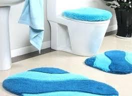 turquoise bath rugs