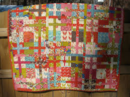 "Off the Grid"" Sliced Nine Patch Quilt Â« Moda Bake Shop & ""Off the Grid"" Sliced Nine Patch Quilt Adamdwight.com"