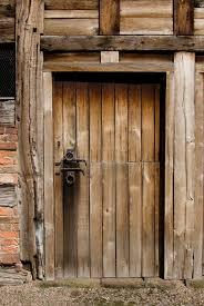 old le door stock photo