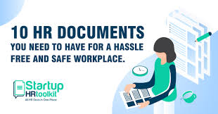10 Hr Documents You Need To Have For A Hassle Free And Safe