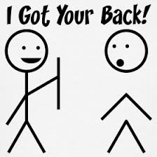 Image result for turning their back on you