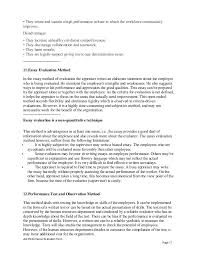 restaurant prep cook performance appraisal job performance evaluation form page 16 17