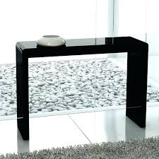 high console table. Black Gloss Console Table Atlantis Clarus High