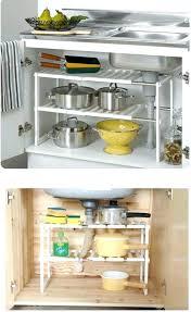 expandable organizer over sink shelves under storage shelf ideas free expandable organizer space expandable closet