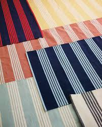 miracle striped dhurrie rugs reade stripe swatch serena lily