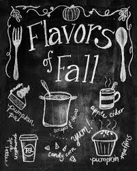 Chalkboard Kitchen My Fall Kitchen Decor And A Free Fall Chalkboard Printable Less