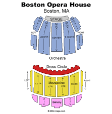Extraordinary Citizens Bank Opera House Seating Chart Boston