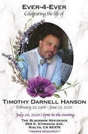 Timothy Hanson Obituary - Las Vegas, NV