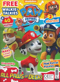 1-Yr Subscription to Paw Patrol Magazine $12.99 at DiscountMags