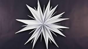 Stern Aus Kopierpapier Basteln Deko Ideen Mit Flora Shop
