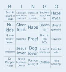 Enneagram threes are likely to value achievement and want to be the best. Untitled Bingo Card