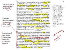 sheila birling student essay exemplar ed puzzle an inspector  sheila birling year 9 essay an inspector calls ks4 english literature