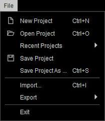 Online Menu Creator Character Creator Online Manual Main Menu File